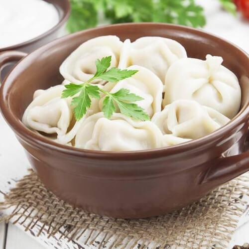营养韭菜豆腐鸡蛋馅饺子