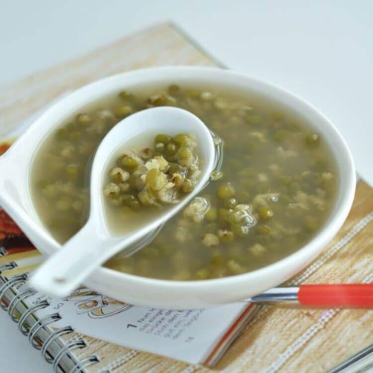家常的绿豆汤&绿豆乳