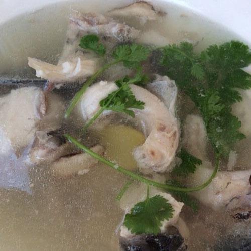 营养的清汤鱼的做法