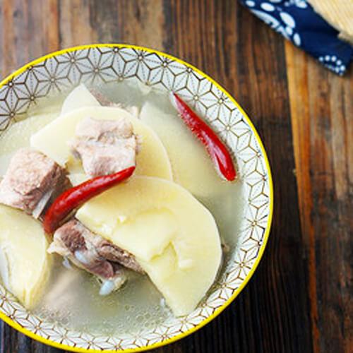 火腿鲜笋汤