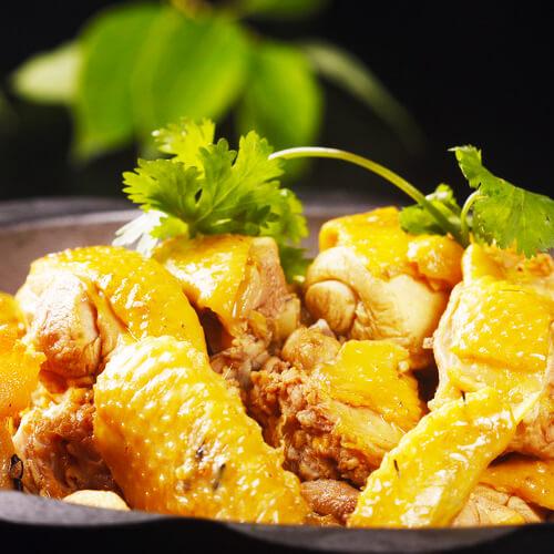 好吃的石锅焖鸡