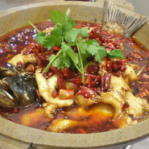 美味石锅焖鱼