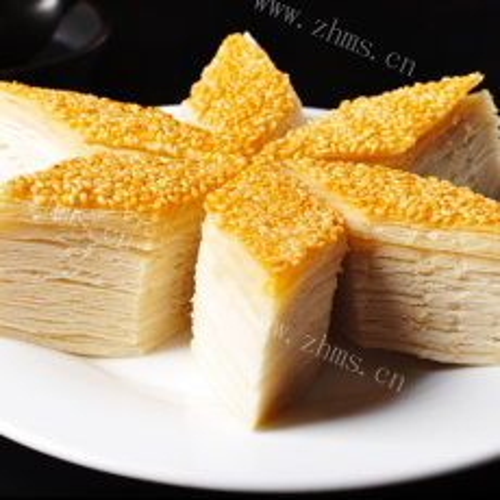可口的甘笋蒸饼
