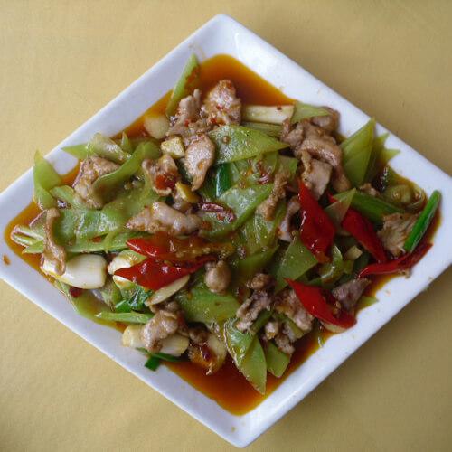 莴笋炒肉-简单版