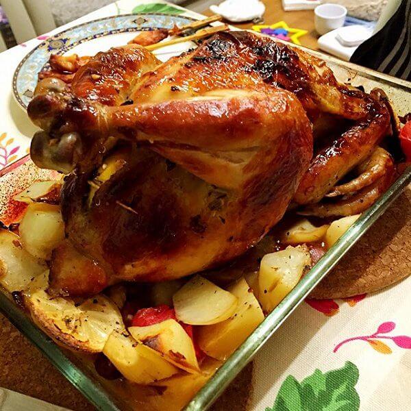 烤鸡的做法
