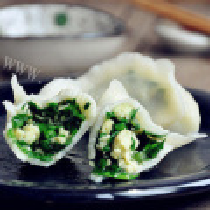 韭菜馅饺子