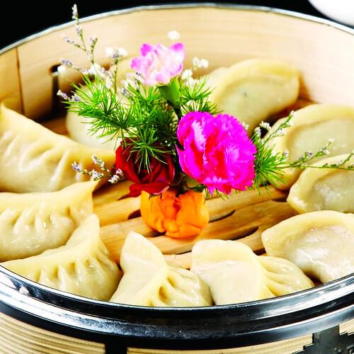 好吃的萝卜牛肉蒸饺的做法