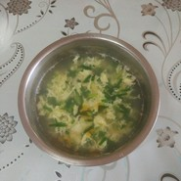 健康美食之韭菜鸡蛋汤