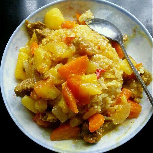 美味的咖喱土豆鸡块的做法