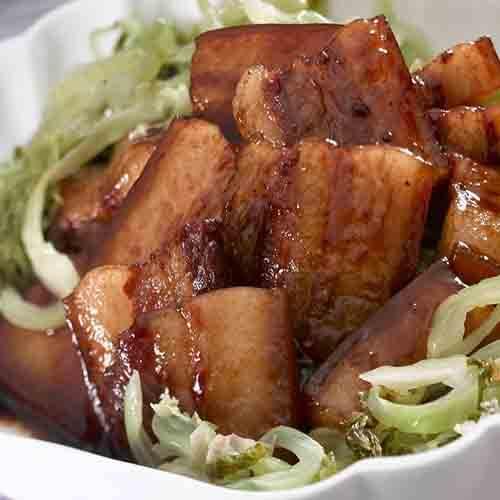 美味的黄焖猪肉的做法