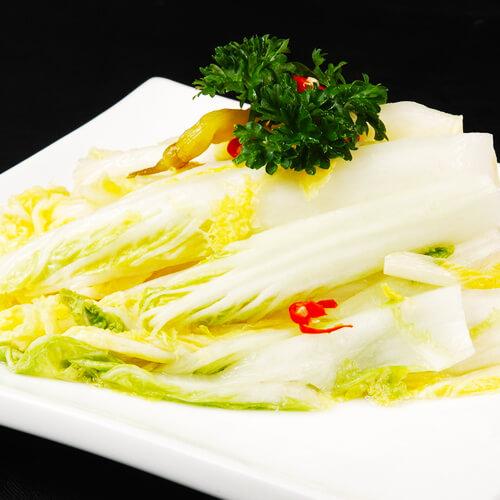 虾酱炒白菜