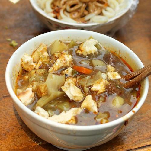美味的羊肉胡辣汤的做法