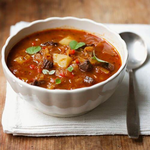 好吃的萝卜牛肉汤