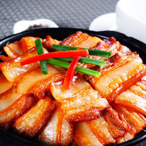 虾酱肉的做法