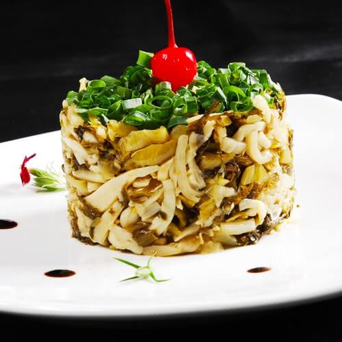 自制美味酸菜笋