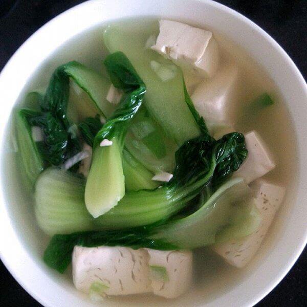 豆腐青菜汤