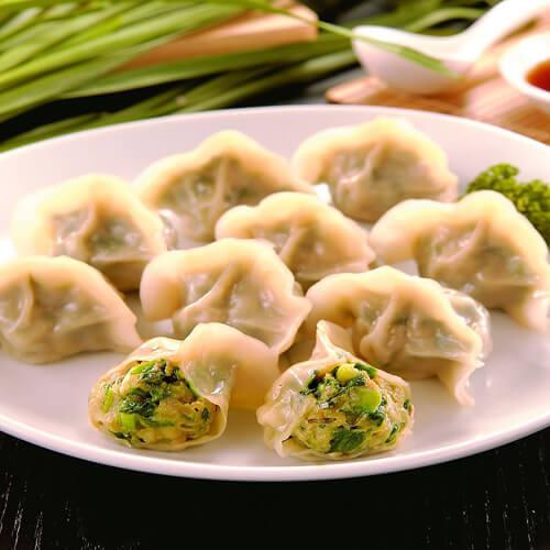 家庭版-猪肉韭菜饺子