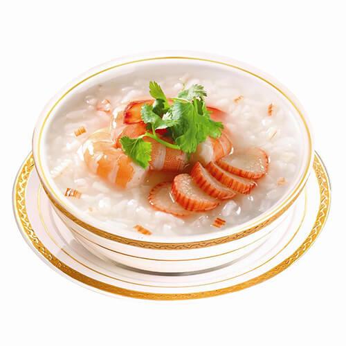 营养的宝宝海鲜粥