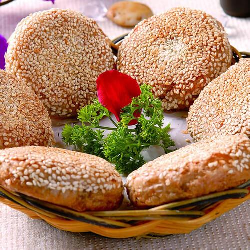 美美厨房之芝麻酱烧饼