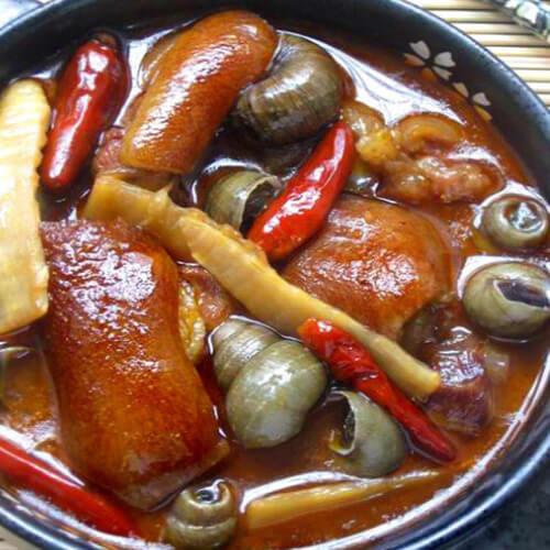 砂锅炖猪蹄的家常做法