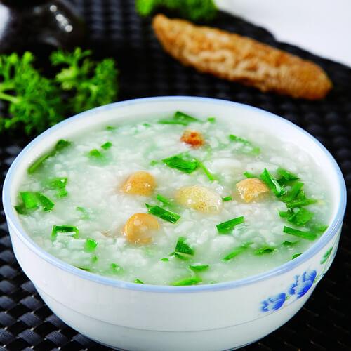 营养的韭菜籽粥