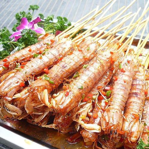 烤箱烤虾的做法