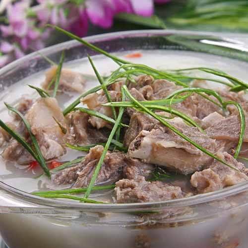美味的清蒸羊肉的做法