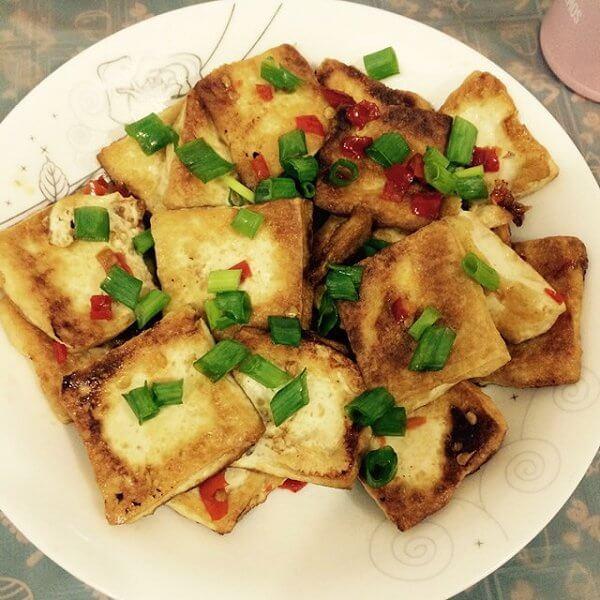 猪肉炒豆腐的做法