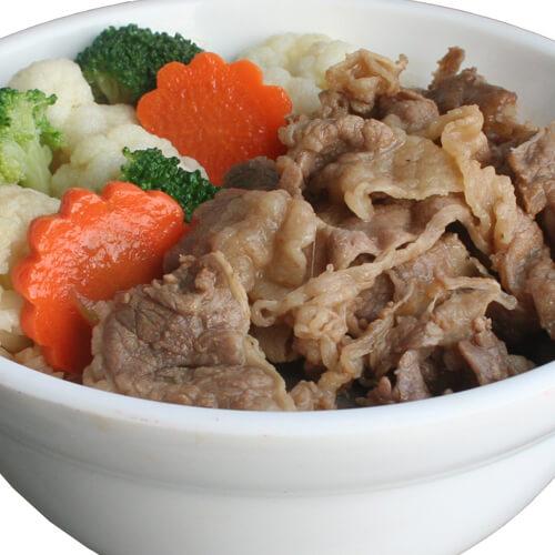 美味日式牛肉盖饭的做法