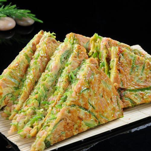 家庭版花枝泡菜煎饼