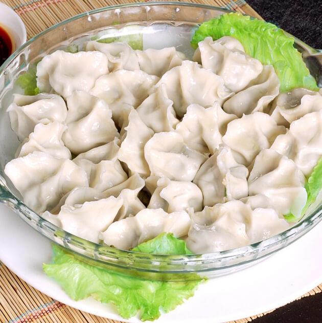 #特色美食#韭菜水饺