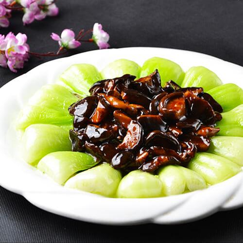 家常香菇油菜