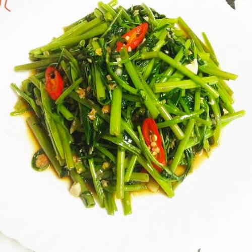 泰式虾酱空心菜