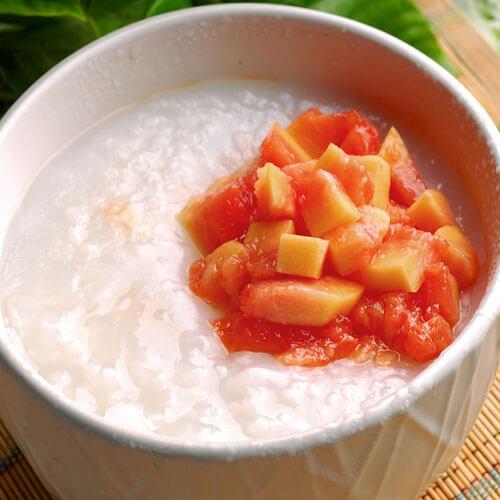 木瓜牛奶粥