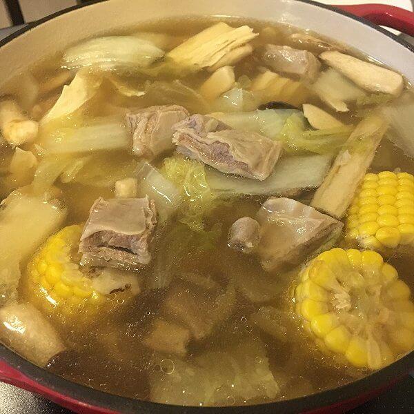 家常药膳羊肉汤的做法