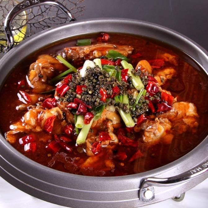 家常火锅鸡的作法
