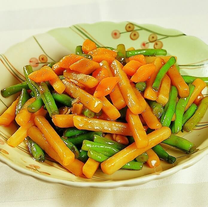 土豆烧豇豆