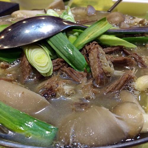 美味的羊肉冬瓜汤的家常做法