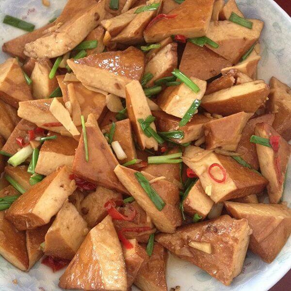 好吃的辣椒豆腐
