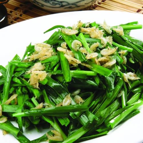 韭菜炒虾皮(原创)