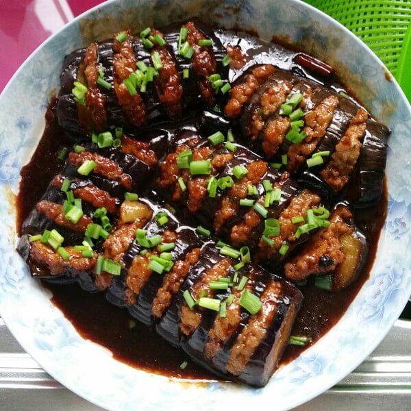 茄子青椒肉