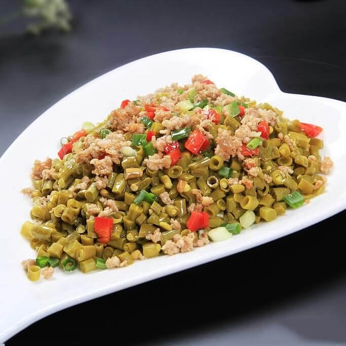 美味的肉沫酸豇豆的做法