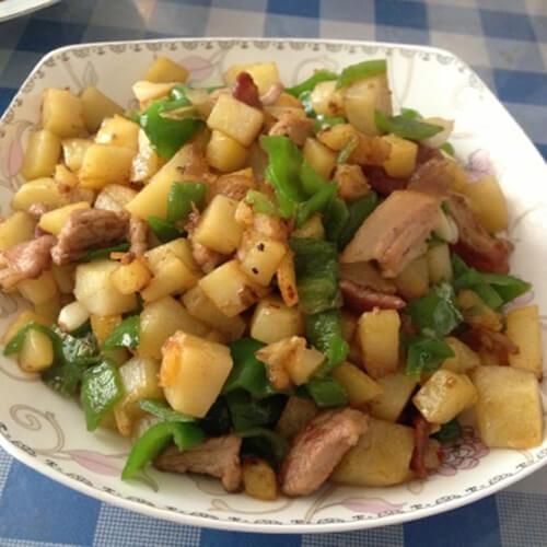 美味的干煸土豆块的做法