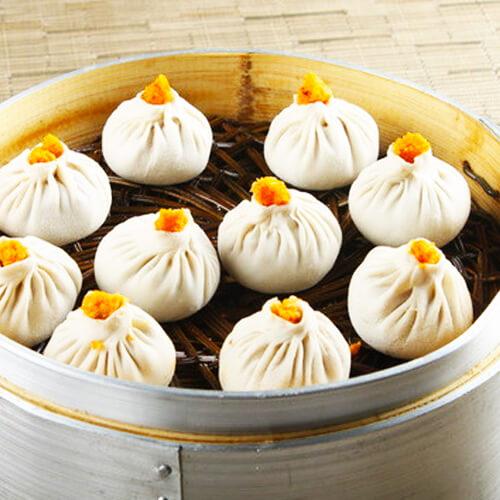 龙袍蟹黄汤包