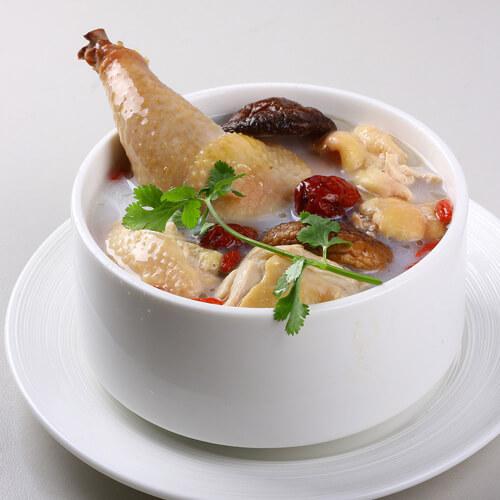 春笋 香菇母鸡汤