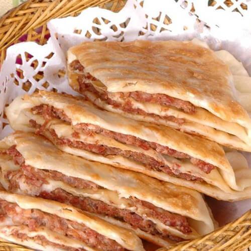 【自制】咸肉小饼