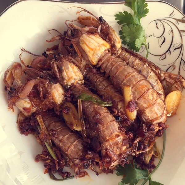 美味的皮皮虾蘸料