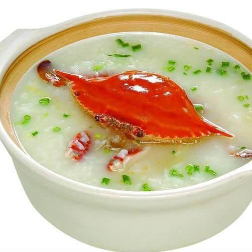 美味的蟹粥