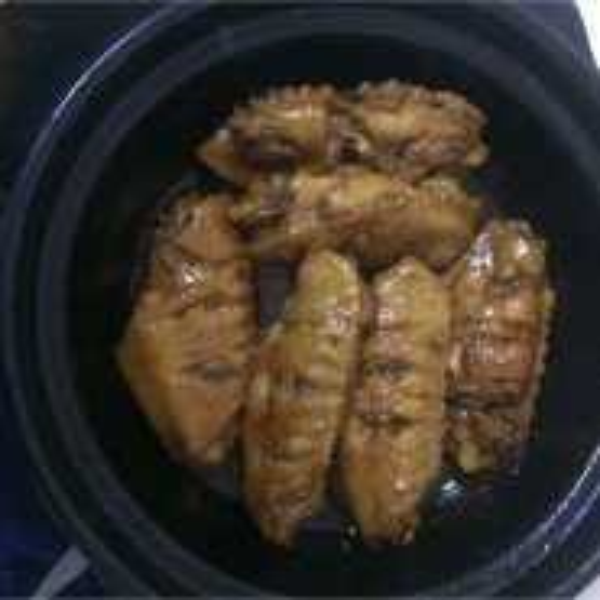 健康砂锅鸡翅