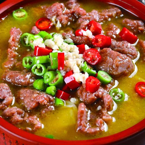 美味酸汤牛肉的做法